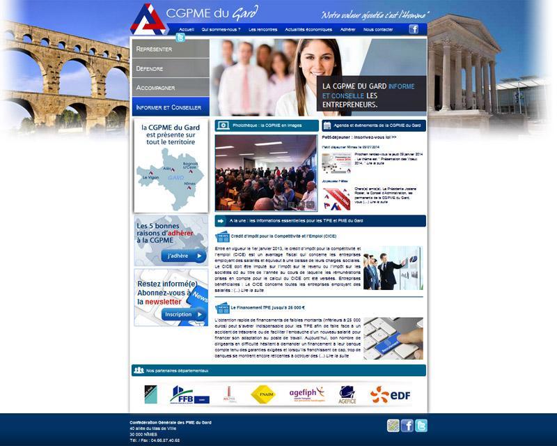 Création site web Nîmes
