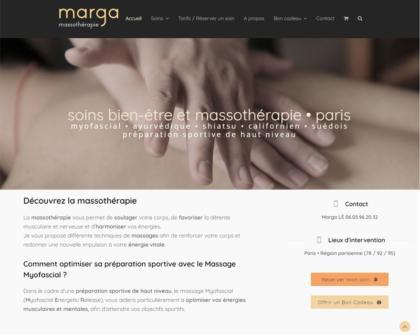 Exemple site web bien-être