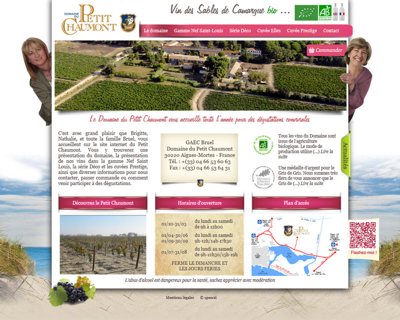 Création site web montpellier